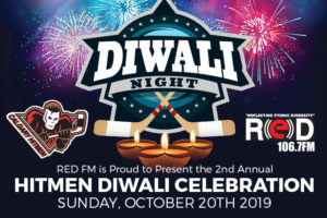RED FM is Proud to Present The 2nd Annual Hitmen Diwali Celebration @ Scotiabank Saddledome
